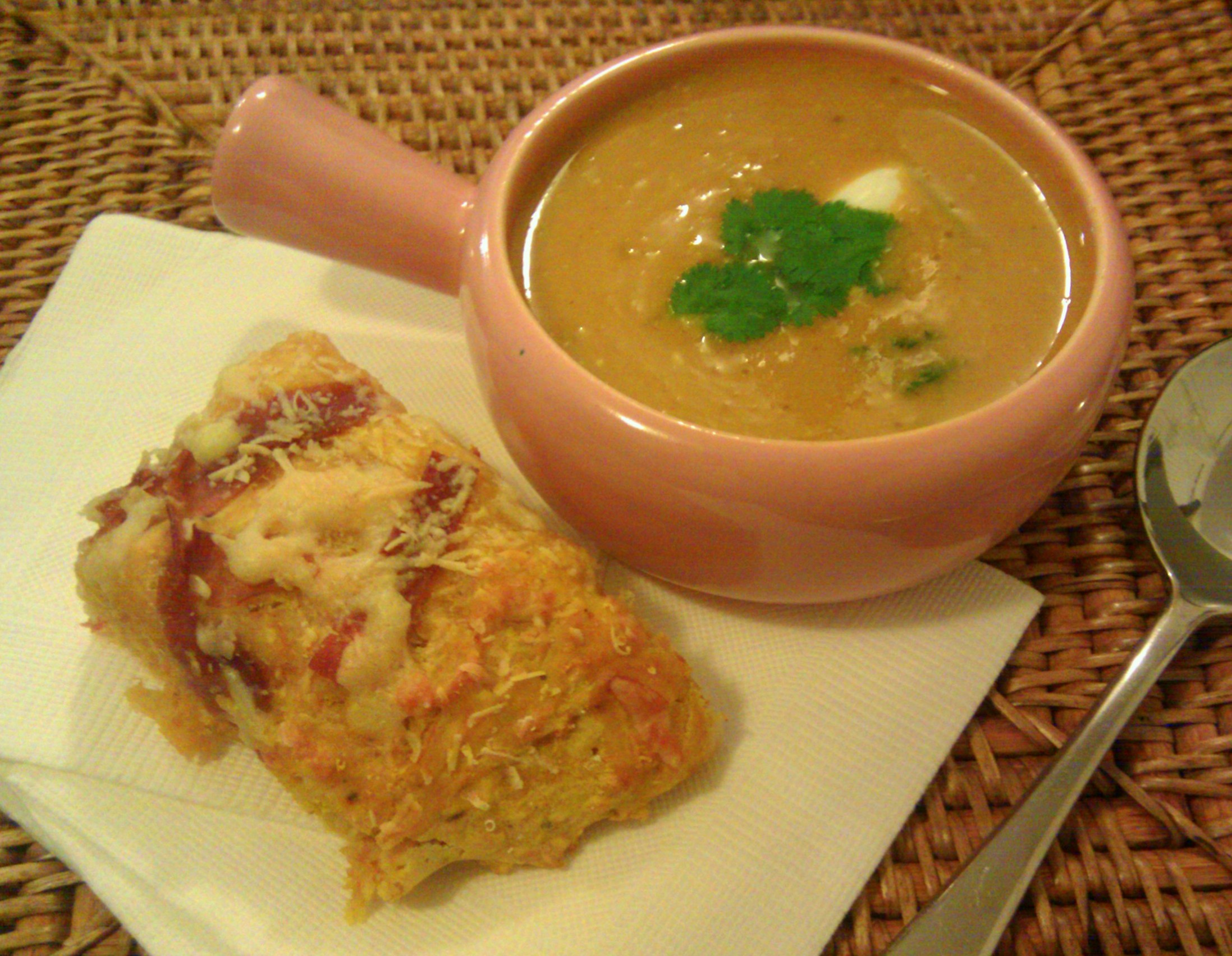 Pumpkin Soup with Savoury Pumpkin Scones - Heike Herrling